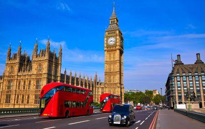 Wielka Brytania - Londyn - Wybierz miasto wylotowe