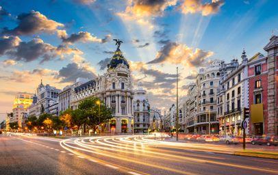 Hiszpania - Madryt - Wybierz miasto wylotowe