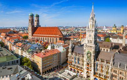 Niemcy - Monachium - Wybierz miasto wylotowe